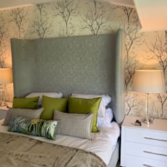 Home Renovation, Jukskei Park, Johannesburg:  Bedroom by CS DESIGN