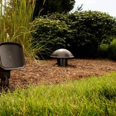 Sistema som Klipsch para outdoor: Jardins zen  por Magnelusa, SA