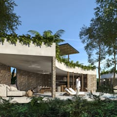 Villa by Obed Clemente Arquitecto