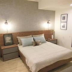 Espectacular Apartamento Club House 3 Alcobas 3 Baños 2 Garajes : Habitaciones de estilo  por AlejandroBroker,