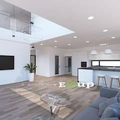 강원도 홍천읍 전원주택 57평 신축: 디자인 이업의  빌트인 주방