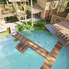 PIRAIPINA:  บ้านและที่อยู่อาศัย โดย GRID ARCHITECT THAILAND,