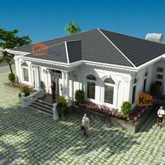 Haciendas de estilo  por CÔNG TY CỔ PHẦN XD&TM KIẾN TẠO VIỆT