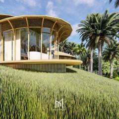 FATHER FARM:  บ้านและที่อยู่อาศัย โดย GRID ARCHITECT THAILAND,