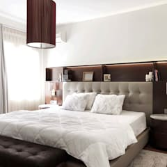 ΛRCHIST Mimarlık|Archıtecture – Moda'da Daire:  tarz Yatak Odası