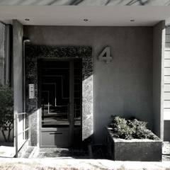 Puertas de vidrio de estilo  por ΛRCHIST Mimarlık|Archıtecture