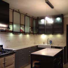 ΛRCHIST Mimarlık|Archıtecture – B.Y. Evi:  tarz Küçük Mutfak