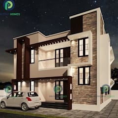 Balcone in stile  di Prithvi Homes