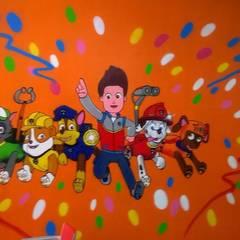 trabajos realizados: Habitaciones de niños de estilo  de dmg-graffitis