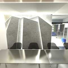 Office design for an architecture studio:  Office buildings by Hexa Design Milano