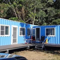 Prefabricated home by 茂林樓梯扶手地板工程團隊