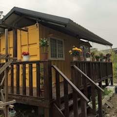 貨櫃屋:  組合屋 by 茂林樓梯扶手地板工程團隊