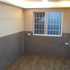 Living room by 茂林樓梯扶手地板工程團隊