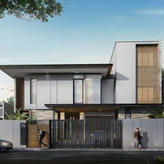 MALAIHOLO RESIDENCE:  Rumah by Baskara Design and Planning