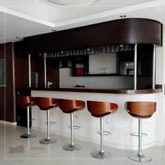 Construcción - Nuovo Sapore: Comedores de estilo  por Corporación Siprisma S.A.C