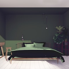 Pracownia Zew의  작은 침실