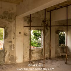 Abandoned School Pondicherry:  Corridor & hallway by TakenIn
