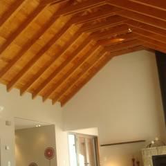Oleh Fabiana Ordoqui Arquitectura y Diseño. Rosario   Funes  Roldán Modern Kayu Wood effect