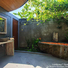 Rock Stone Bathtub - hotel bathroom:  Hot tub by Lux4home™ Indonesia