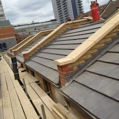 Hipped roof by HD Construction