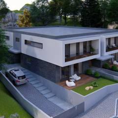 Casas multifamiliares de estilo  por Miguel Zarcos Palma