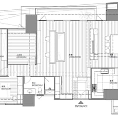 Floors by 極簡室內設計 Simple Design Studio, Modern