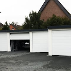 Prefabricated Garage by Siebau Raumsysteme GmbH & Co KG