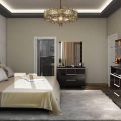 3 Art Studio – Ahmet Kırıcı:  tarz Yatak Odası