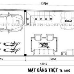 Thiết kế nhà phố 3 tầng:  Nhà by Công ty cổ phần tư vấn kiến trúc xây dựng Nam Long, Hiện đại