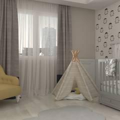 Small bedroom by Mint Studio, Modern