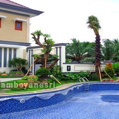 Estanques de jardín de estilo  por Tukang Taman Surabaya - flamboyanasri