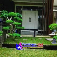 25 Koleksi Desain Tukang Taman Surabaya Terindah : Halaman depan oleh Tukang Taman Surabaya - flamboyanasri,