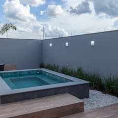 Hot tubs by Romulo Garcia Arquitetura