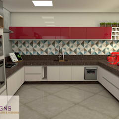 Kitchen by GNS | Arquitetura & Interiores