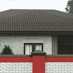 Country house by Антон Васьков, Eclectic Bricks