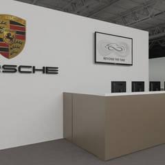 Centros de exhibiciones de estilo  por Daniele Piazzola architetto