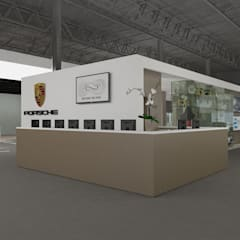 Exhibition centres by Daniele Piazzola architetto