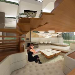 Oleh archipur Architekten aus Wien Eklektik Parket Multicolored
