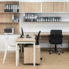 Oficinas Corporatívas - Corpac, San Isidro: Oficinas y Tiendas de estilo  por Baum Studio