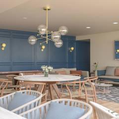 Dining room by Simple Mob sa de cv