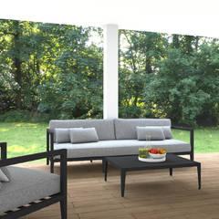 TOILE: Terrasse de style  par SAMANTHA DECORATION,