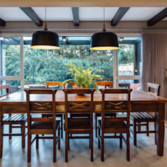 ระเบียง by Carolina Burin Arquitetura Ltda