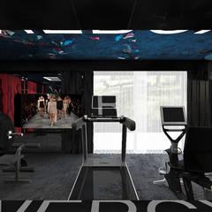 THE OTHER SIDE OF THE COIN | II | Wnętrza domu: styl , w kategorii Siłownia zaprojektowany przez ARTDESIGN architektura wnętrz,
