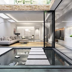 Basement Extension and Refurbishment – Streatham:  Detached home by Armstrong Simmonds Architects