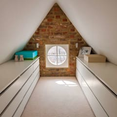 ​Loft Conversion – Clapham por Armstrong Simmonds Architects Moderno Chipboard