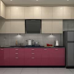 Kitchen by Golden Spiral Productionz (p) ltd, Modern