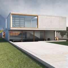 Casa RC: Casas unifamilares  por Inbicta