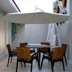 Projeto de Reforma Residencial: Varandas  por SCK Arquitetos
