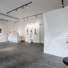 Centros de exhibiciones de estilo  por 叡觀國際空間規劃