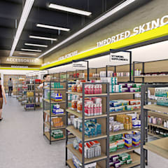 Supermarket:  Commercial Spaces by Trenocon Sdn Bhd